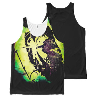 Levendig All-Over-Print Tank Top