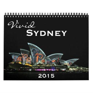 levendig Sydney 2015 Kalender