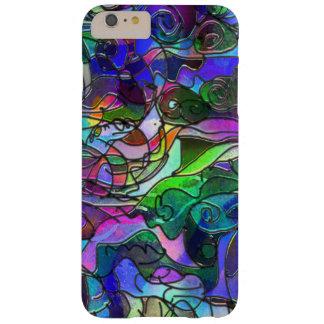 Levendige, Rijke Kleuren: Als Gebrandschilderd Barely There iPhone 6 Plus Hoesje