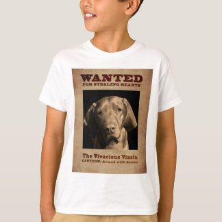 Levendige Vizsla T Shirt