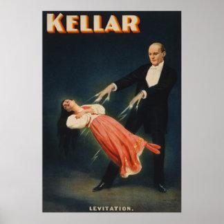 Levitatie 3 van Kellar Poster
