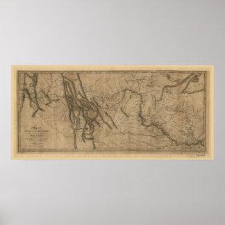 Lewis en de Kaart van het Spoor van Clark Poster