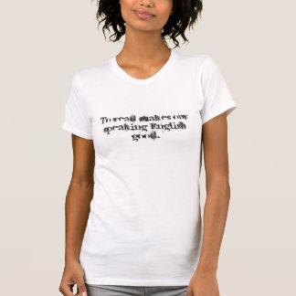 Lezen maakt ons het spreken Engels goed T Shirt