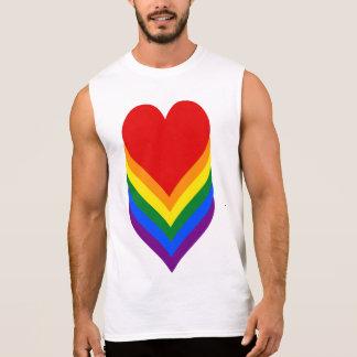 LGBT de T-shirt van trotsharten