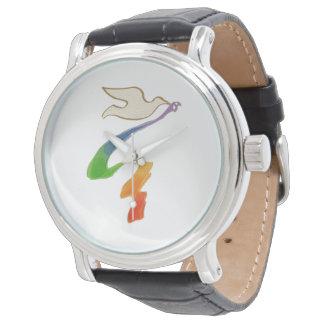 LGBTQ - Vrolijke Tijd - de Vogel van de Vrijheid Horloge