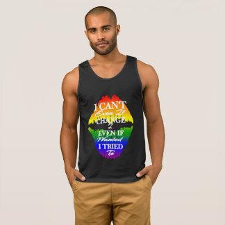 LGBTQIA Ik kan niet veranderen zelfs als ik aan Hemd