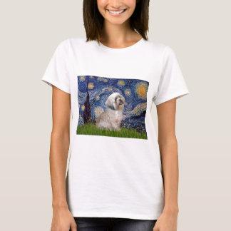 Lhasa Apso 10 - Sterrige Nacht T Shirt