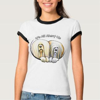 Lhasa Apso Zijn allen over ons IAAU T Shirt