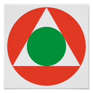 Libanese Luchtmacht Roundel Poster