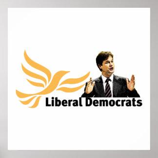Liberale Democraten Poster
