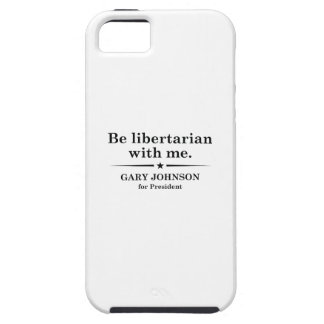 Libertarian ben met me tough iPhone 5 hoesje