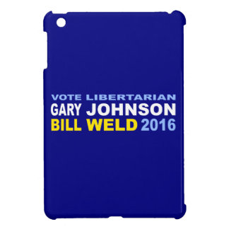 Libertarian johnson-Las 2016 van de stem Hoesje Voor iPad Mini