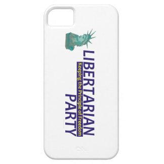 Libertarian Partij van het T-SHIRT Barely There iPhone 5 Hoesje