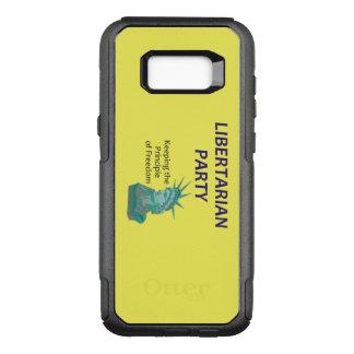 Libertarian Partij van het T-SHIRT OtterBox Commuter Samsung Galaxy S8+ Hoesje