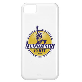 Libertarian Politiek van het Logo van de Partij iPhone 5C Hoesje