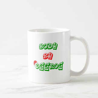 Lichaam door eierpunch koffiemok
