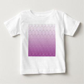 Licht aan Donkere Paarse Schalen Baby T Shirts