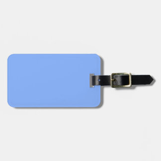 Lichtblauwe slechts modieuze stevige bagagelabel