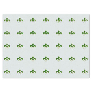 lichte Achtergrond met Green Fleur DE Lis Tissuepapier