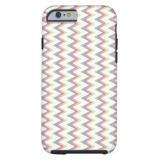 Lichte kleuren tough iPhone 6 hoesje