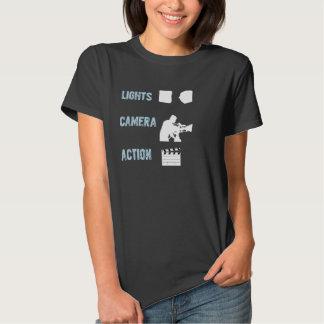 Lichten, Camera, Actie! Overhemd - Vrouwen T-shirt