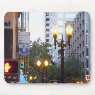 Lichten de van de binnenstad van de Stad van Portl Muismat