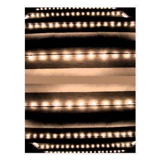 Lichten van de Stad van de Fonkeling van Broadway Briefkaart