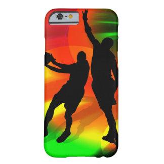 Lichten van het Hof van het Duo van het basketbal Barely There iPhone 6 Hoesje