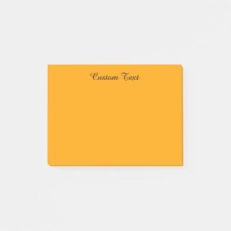Lichtoranje Post-it® Notes