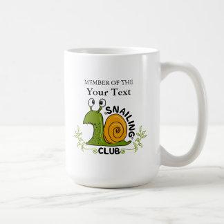 Lid van Uw Eigen Club Snailing Koffiemok