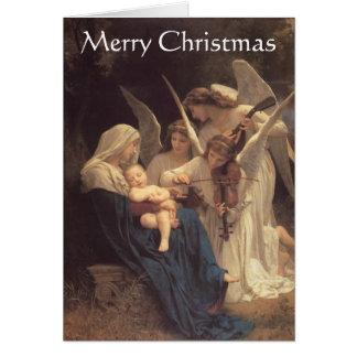 """""""Lied van de Engelen"""" Kerstkaart Kaart"""