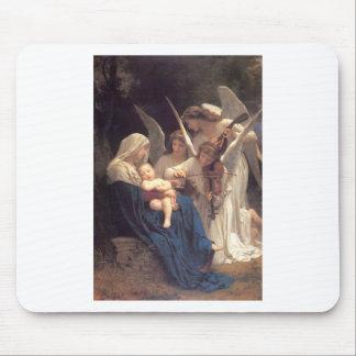Lied van de Engelen - William-Adolphe Bouguereau Muismat