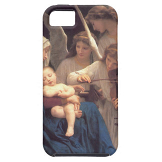 Lied van de Engelen - William-Adolphe Bouguereau Tough iPhone 5 Hoesje