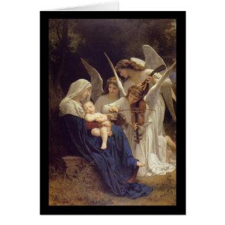 Lied van de Kerstkaart van Engelen Briefkaarten 0