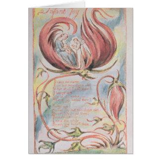 Liederen van Onschuld; Vreugde van het baby, 1789 Briefkaarten 0