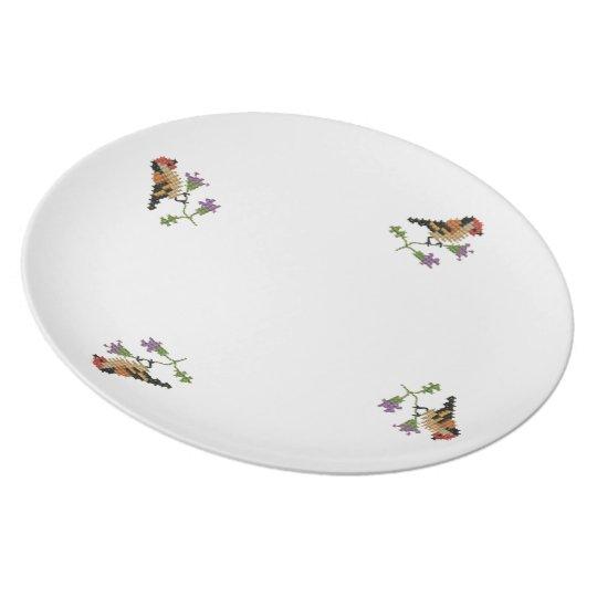 Lief vogeltje melamine+bord