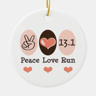 Liefde 13.1 van de vrede Ornament
