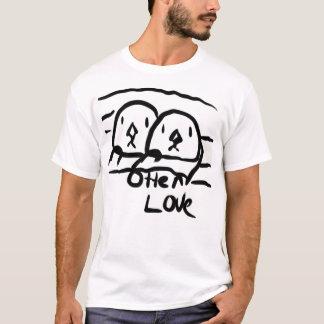 Liefde 1 van de otter t shirt