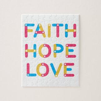 liefde 2 van de geloofshoop puzzel
