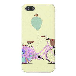 Liefde aan Cyclus op mijn Roze Fiets door Andy iPhone 5 Hoesje