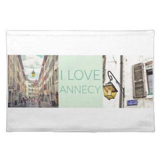 """Liefde Annecy"""" Placemat de """"van I"""