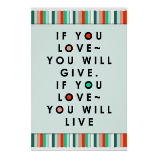 liefde citaten poster