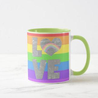 Liefde, de Mok van de Koffie van het Hart van de