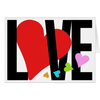 Liefde & (de Veelkleurige) Kaart van het Hart