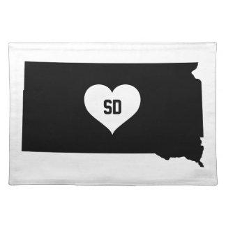 Liefde de Zuid- van Dakota Placemat
