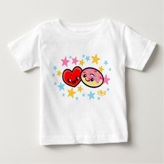 liefde donuts baby t shirts