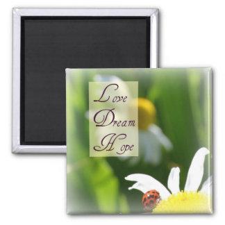 Liefde, Droom, de Magneet van het Lieveheersbeestj