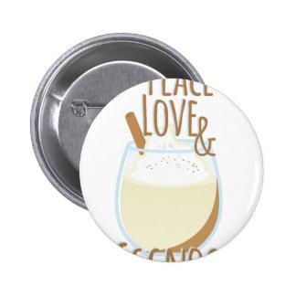 Liefde & Eierpunch Ronde Button 5,7 Cm