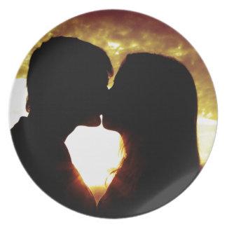 Liefde en de zomer melamine+bord