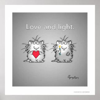 Liefde en Licht door Sandra Boynton Poster